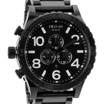 Nixon 51-30 Chrono A083-001 All Black Herrenuhr