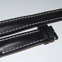 Breitling Kalbslederband für Dornschliesse Schwarz  24-20 mm