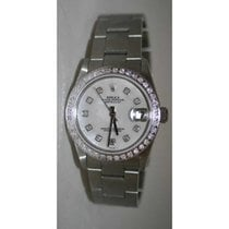 Rolex Datejust 78240 Midsize Oyster Band Stainless Steel...