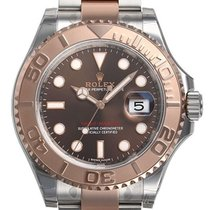롤렉스 (Rolex) Yacht - Master Steel and 18k Rose Gold Men's...