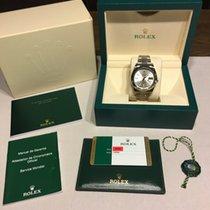 롤렉스 (Rolex) Rolex Date Just II Steel white gold Silver batton...