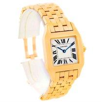 カルティエ (Cartier) Santos Demoiselle Midsize 18k Yellow Gold...