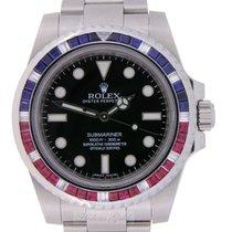 Rolex Submariner Pepsi and  Diamonds Custommade