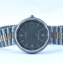 Longines Conquest Herren Uhr Quartz Titan/gold 34mm Rar