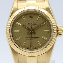 Rolex Oyster Perpetual Automatic Gold Lady 67198