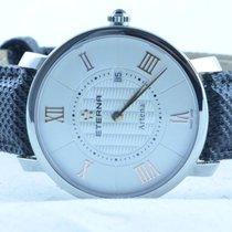 Eterna Damen Uhr Quartz Artena Stahl/stahl 32mm Klassische...