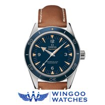 Omega Seamaster 300 Blue Dial Automatic Titanium Men's...