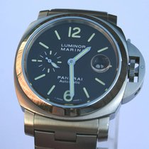 Panerai Luminor Marina Stahl 44mm Automatik Herrenuhr TOP