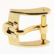 Omega Dornschliesse Buckle Swiss Plaqueg Stahl Vergoldet 12mm O27