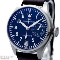 IWC Big Pilots Watch Ref-IW500201 Stainless Steel Box Papers...