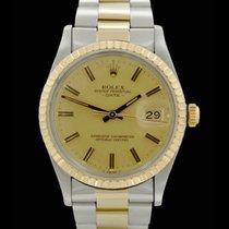 Rolex Date - Ref.: 15053 - Edelstahl/Gelbgold - Jahr: 1983 -...
