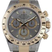 Rolex Cosmograph Daytona Bi-Metal Silver/Index 116523