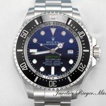 Rolex Sea Dweller Deepsea D-Blue Stahl 116660