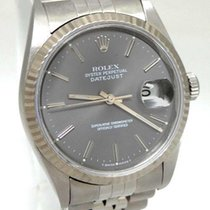 Rolex Mens Rolex Oyster Perpetual Datejust Stainless Steel...