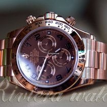 Rolex DAYTONA Full gold  Chocolate dial