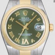 Rolex Datejust, Ref. 178243 - grün römisch IV Dia ZB/Oysterb.