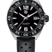 TAG Heuer FORMULA 1 Black Dial,Black Leather Men's Watch