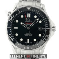 Omega Seamaster Diver 300m Co-Axial 41mm Black Dial Automatic