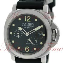 Panerai Luminor Power Reserve Regatta 2005, Black Dial with...