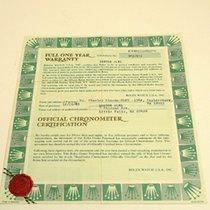 Rolex Warranty Certificate Ref: 16803