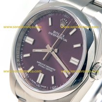 Rolex Oyster Perpetual Purple Dial 36mm