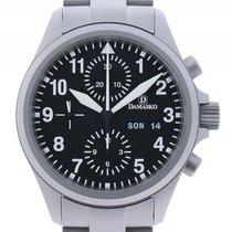 Damasko DC56 Stahl Automatik Chronograph Armband Stahl 40mm...
