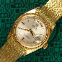 Ρολεξ (Rolex) Day-Date 1807 mesh bracelet Dutch day disk 1968