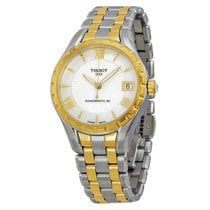 Tissot Lady 80 Automatic White Mother of Pearl Dial Two-tone...