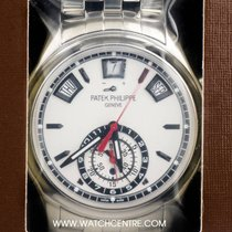 Patek Philippe S/S Double Sealed Annual Calendar Chrono...