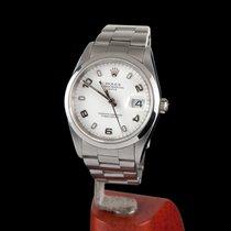 Rolex Oyster Perpetual Date Steel Men Size