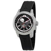 Perrelet Dark Grey Dial Automatic Men's Moonphase Watch