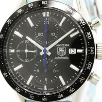 タグ・ホイヤー (TAG Heuer) Polished Tag Heuer Carrera Chronograph...