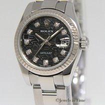 Rolex Datejust Stainless Steel 18k Gold Jubilee Diamond Dial...