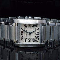 Cartier 2002 Tank Française Mid Size, MINT, Box & Papers,...