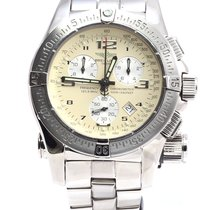 Breitling Emergency Mission 121.5 MHz 45mm Steel White Dial