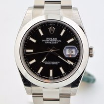 Rolex Datejust 41 Stainless Steel Black Dial Watch 126300