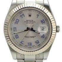 Ρολεξ (Rolex) Rolex DateJust ii / Silver Dial / fluted Bezel...