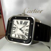 까르띠에 (Cartier) Santos 100 XL Steel Roman Dial 52 x 40 mm (Full...
