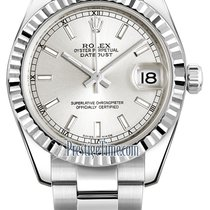 Rolex Datejust 31mm Stainless Steel 178274 Silver Index Oyster