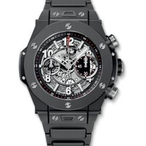 Hublot : 45mm Big Bang Unico Black Magic Men's Watch on...