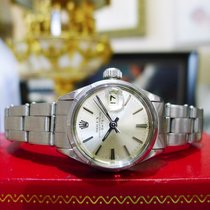 Rolex Oyster Perpetual Date 6519 Stainless Steel Watch Circa 1967