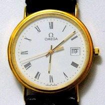 Omega PRESTIGE QUARZO MM.33X38 DATE ORO 18K  Cod. CV02