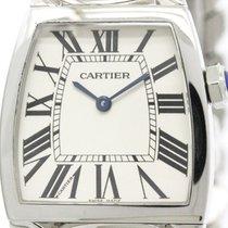 까르띠에 (Cartier) Polished Cartier La Dona Lm Steel Quartz Ladies...