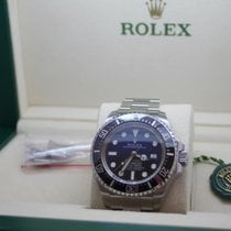 Rolex Sea-Dweller Deepsea Deep Blue James Cameron 2017 B-P