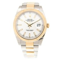 勞力士 (Rolex) Datejust Gold And Steel White Automatic 126333WT_O