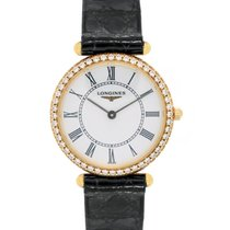 Longines La Grande Classique Diamond Quartz Ladies Watch –...