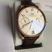 IWC Portugieser Seven Days IW500113 - Gentlemen's watch -...