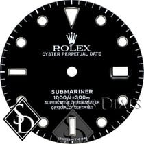 Rolex Submariner Black Index Marker Dial SS