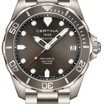 Certina DS Action Precidrive Herrenuhr Titanium C032.410.44.08...