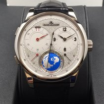 Jaeger-LeCoultre 18K White Gold Duomètre Unique Travel Time...